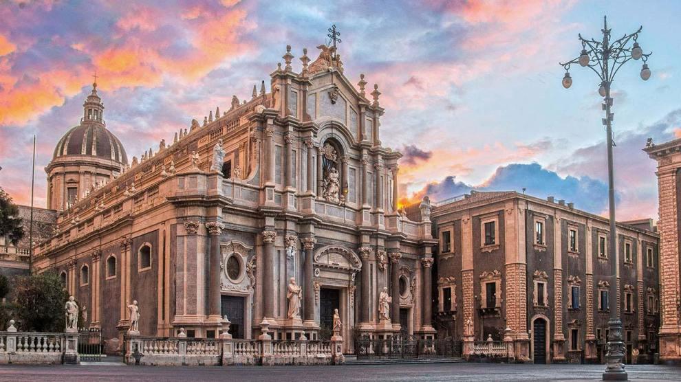 Catania, Cattedrale e Piazza Duomo